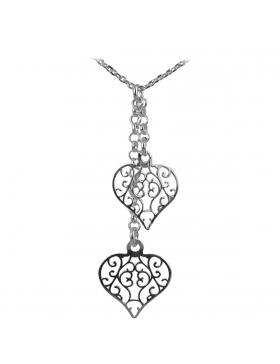 Bijou collier Coeur Saint Valentin