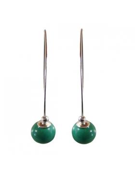 Boucles turquoise, argent - Reflets de Bijoux