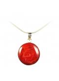 pendentif rouge saint valentin
