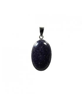 Pendentif en blue sand stone - Reflets de Bijoux