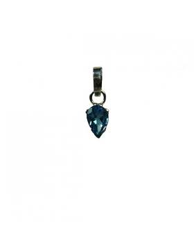Pendentif topaze bleue, Reflets de Bijoux