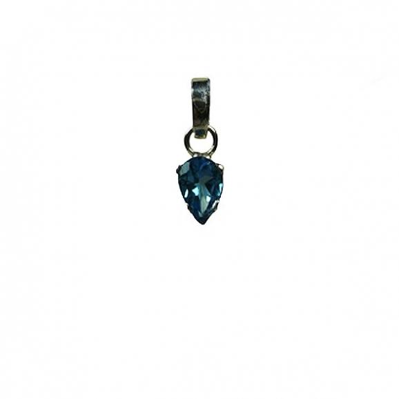topaze bleue-Reflets de Bijoux