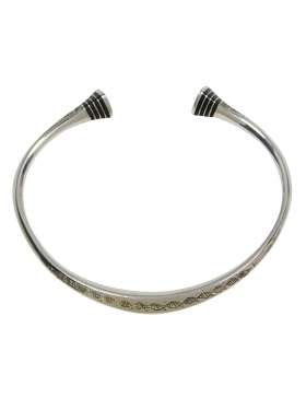 Bracelet TOUAREG rigide en argent