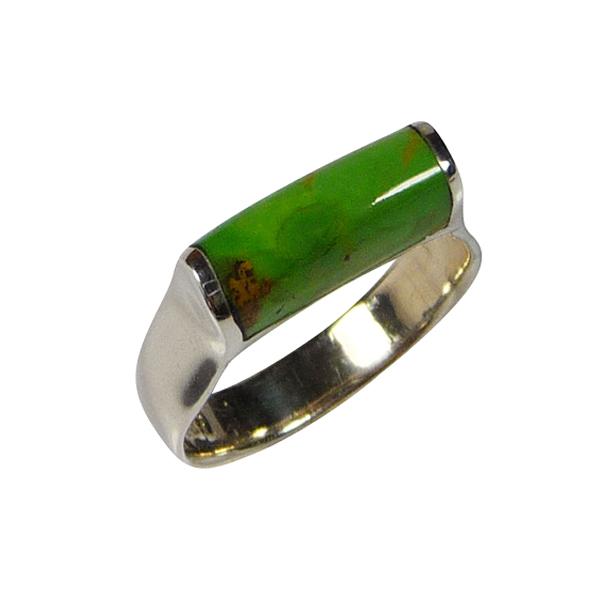 Bijoux en gaspeite, pierre verte