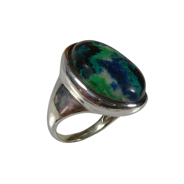 bijoux azurite - pierre bleue - pierre fine semi précieuse