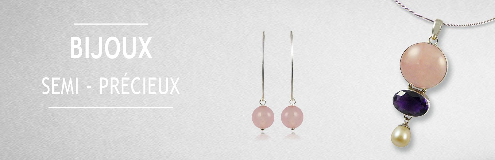 Découvrez nos bijoux en pierres fines et semi précieuses originales